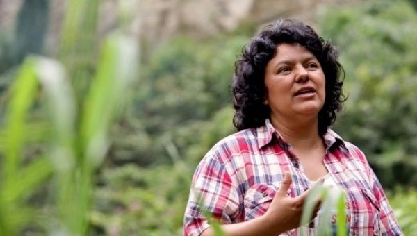 Berta Cáceres fue asesinada por su defensa del medioambiente en 2016.