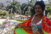 Colombian Indigenous activist Alicia Lopez Guisao