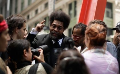 U.S. philosopher, activist and intellectual Cornel West