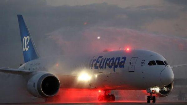 Air Europa flies Boeing 787 Dreamliner to Cuba