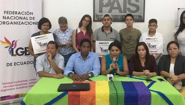 Multiple organizations said they would support Lenin Moreno for president in Ecuador due to his support for LGBTI rights.