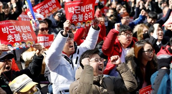 South Korean President Formally Impeached over Graft ...