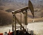 A pumpjack brings oil to the surface in the Monterey Shale, California, U.S. April 29, 2013.