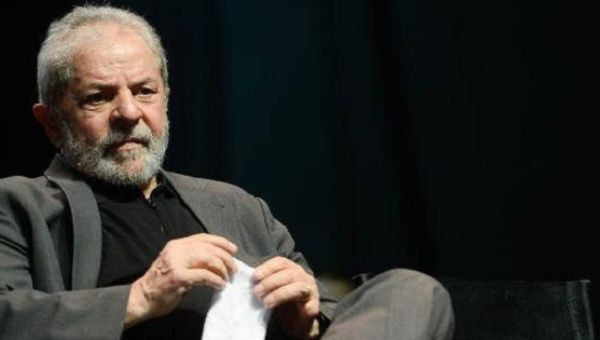 Lula is one of the lead figures against the coup-government of Michel Temer.