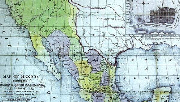 Mexico Could Demand Its Stolen Land Back From The US News - Us map and mexico