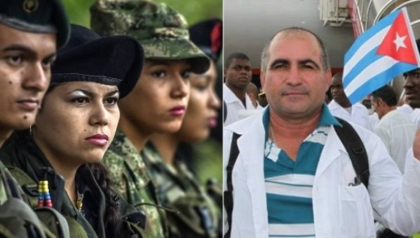 Cuba has offered 1,000 medical scholarship to Colombia over the next five years, 500 for the FARC and 500 for the government.