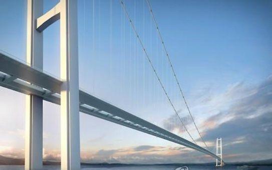 El puente colgante más largo del mundo estará en Turquía