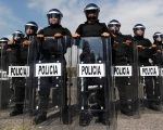 Members of a Mexican police task force unit.