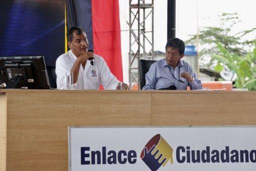 Alerta Correa sobre nueva embestida de la derecha ecuatoriana