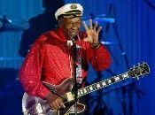 El guitarrista y cantante estadounidense Chuck Berry, uno de los padres del rock n