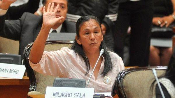 La líder de la organización social Túpac Amaru y diputada al Parlasur por el Frente para la Victoria está detenida desde el 16 de enero de 2016.