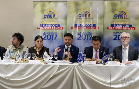 Ecuador conocerá resultados de elecciones el mismo 2 de abril