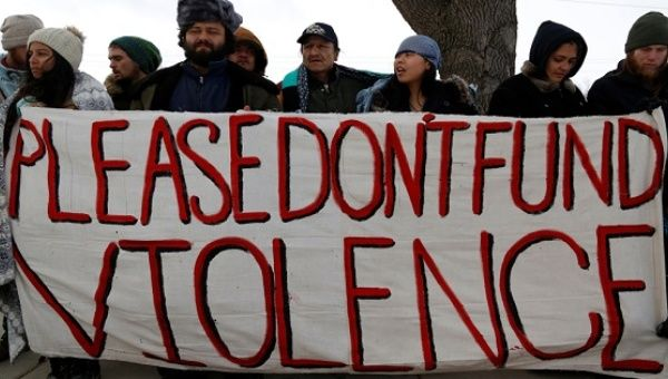 The movement to divest from the Dakota Access pipeline company is gaining steam.