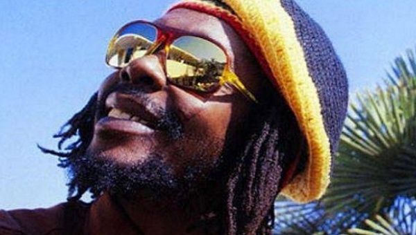 Reggae legend and activist Peter Tosh.