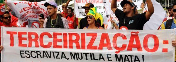 Sindicatos brasileños alistan huelga general contra reformas