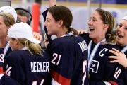 The U.S. women won gold at the past three world championships and medaled in every Winter Games since women's hockey was added in 1998.