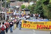 Protests against the mining giant AngloGold Ashanti have gone on for years in Colombia.