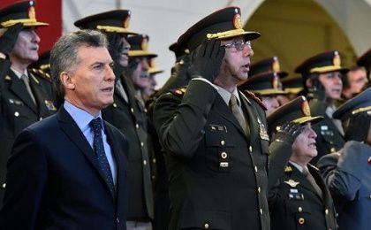 President Mauricio Macri has said that Argentina needs to update its Armed Forces for the 21st Century.