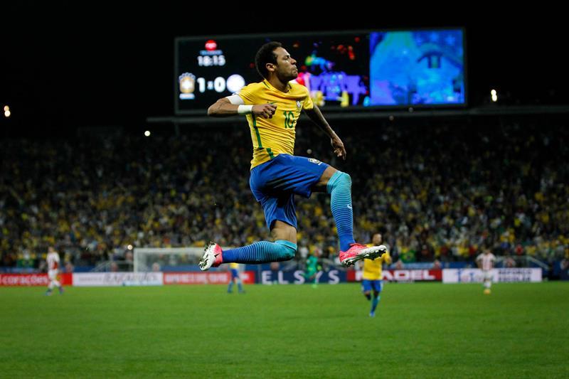 Brasil ya tiene su boleto al Mundial Rusia 2018
