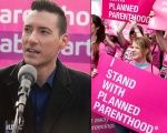 David Daleiden (L) was behind a smear campaign against Planned Parenthood.