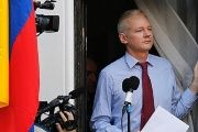 Assange has been holed up in the Ecuadorean embassy in the London for the past five years, fearing extradition to the U.S.