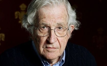 Prominent linguist and MIT professor Noam Chomsky.