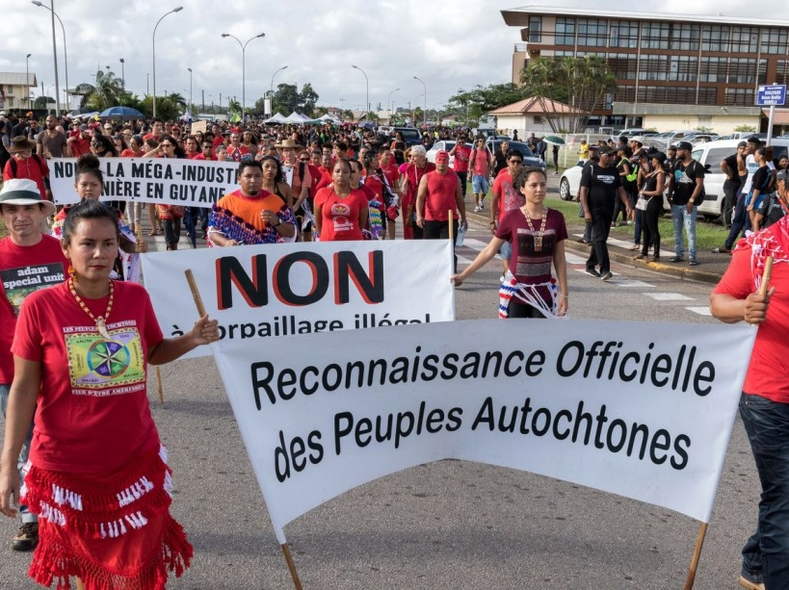 guiana protests colonization france racism
