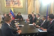 Venezuela's National Defense Council during a special meeting in Caracas. March 31, 2017