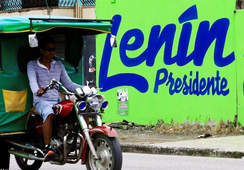 Governing party candidate Lenin Moreno has promised to continue the social programs and progressive policies championed over the past decade by President Rafael Correa and the Citizen