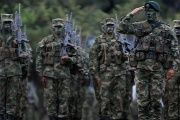 Colombian military forces