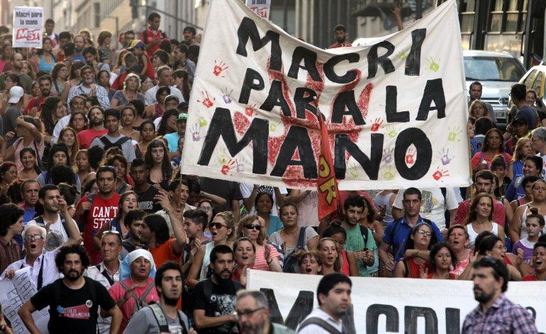 Paro nacional muestra hoy rechazo contundente contra Gobierno de Macri
