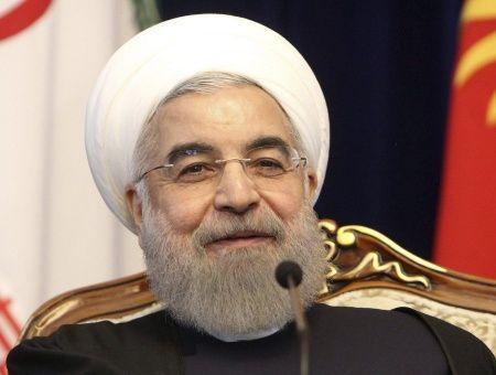 El mandatario iraní denunció que Estados Unidos viola el derecho internacional y apoya a los terroristas.