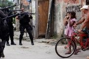 Frequent police brutality has undermined the trust of residents of Rio de Janeiro's Maré favela in law enforcement.