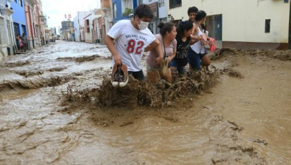 Peru Floods Cause US$645 million in Agriculture Losses