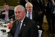 Britain's Foreign Secretary Boris Johnson led the charge at the G7 for sanctions to be brought against Moscow to no avail.