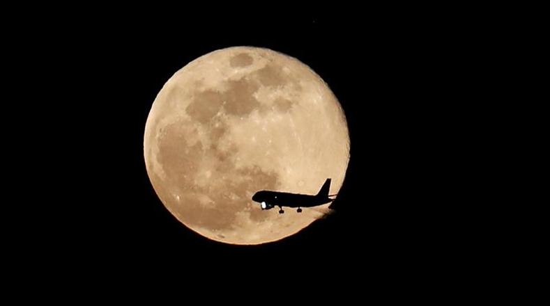 Luna rosa en el cielo esta semana