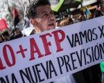 Chile's private pensions system has been met with ongoing protests .