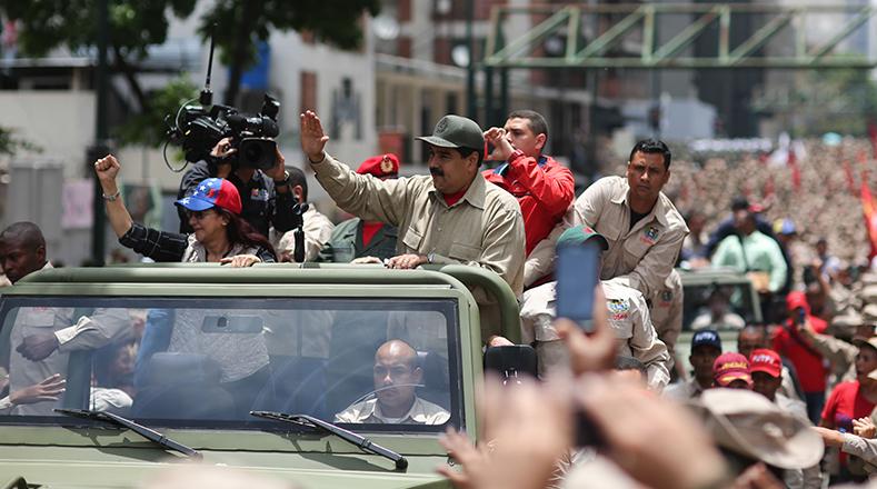 La Milicia Nacional Bolivariana (MNB) reafirmó este lunes su compromiso con los principios de independencia, libertad y soberanía.