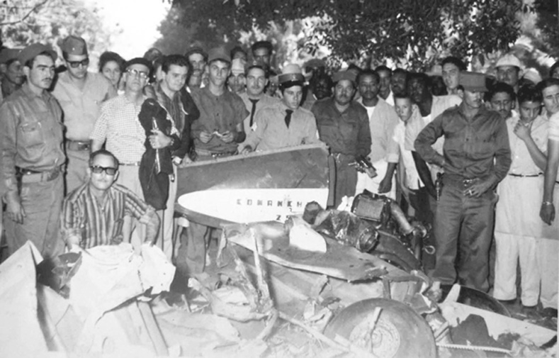 The Cuban people and revolutionary armed forces managed to destroy several of the aggressors