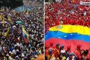 Venezuela: Thousands March in Opposing Pro, Anti-Govt Rallies