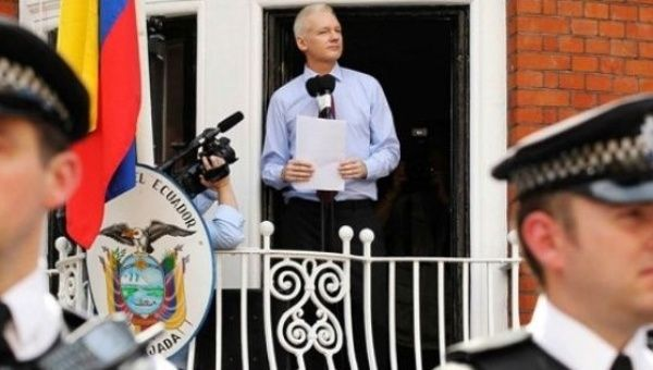 Ecuador has granted the WikiLeaks founder asylum since 2012.
