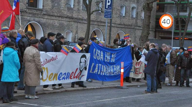 Más de 20 países realizaron una jornada de solidaridad con la República Bolivariana de Venezuela en apoyo a este país ante los intentos injerencistas del secretario general de la Organización de Estados Americanos (OEA), Luis Almagro.