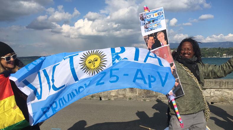 En Brasil, Colombia, Hong Kong, Canarias, Ciudad de México, Italia, Ecuador, Chile, Paraguay diferentes movimientos sociales convocaron a actos de solidaridad como proyección de documentales, representaciones teatrales, actos especiales y conversatorios.