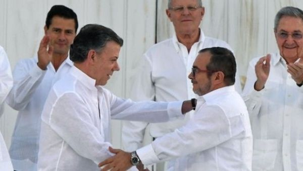 The signing of the Colombian peace accord has brought more insecurity to social movement leaders, including FARC members.