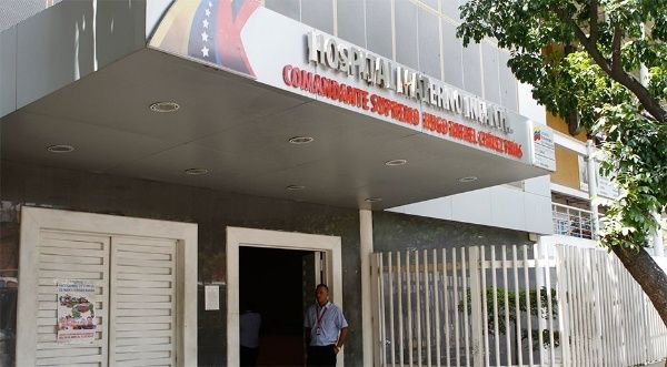 Hospital infantil atacado por bandas armadas contratadas por la oposición.