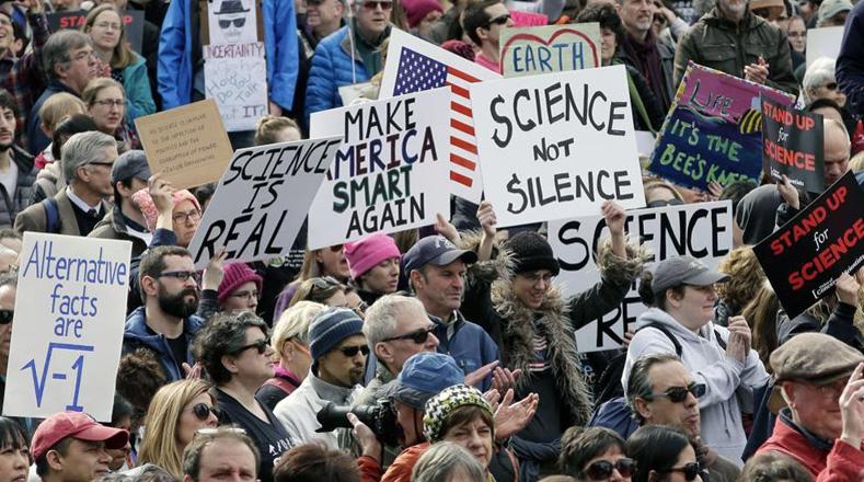 El mundo marchará el sábado en pro de la ciencia y contra Trump