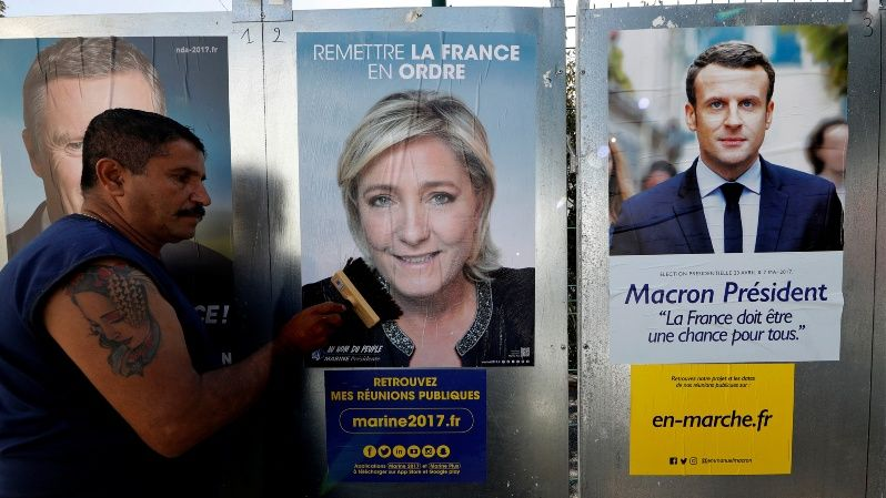 A total of 11 candidates will compete for the French presidency in the first round of elections on April 23..