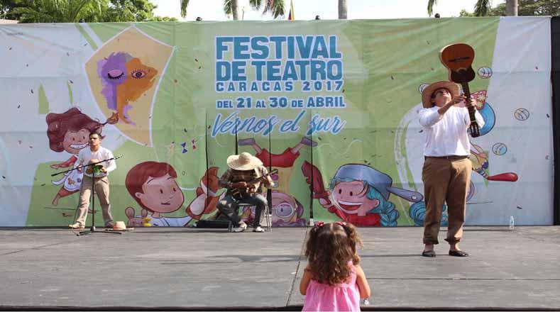 Festival de Teatro llena de brillo y arte la capital de Venezuela ...