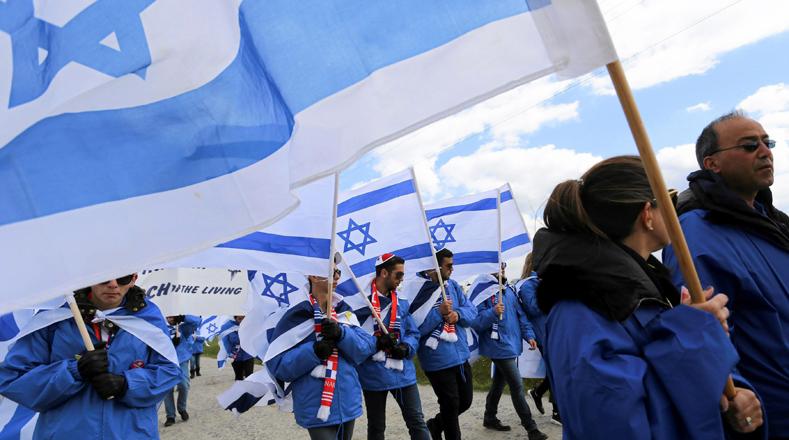"""""""Marcha por la Vida"""" es un programa internacional del cual participan personas de 52 países diferentes."""