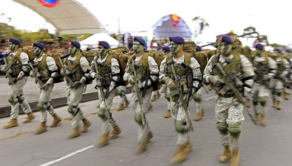 Colombia is one of the countries that, despite the peace process, has increased the budget for its military.